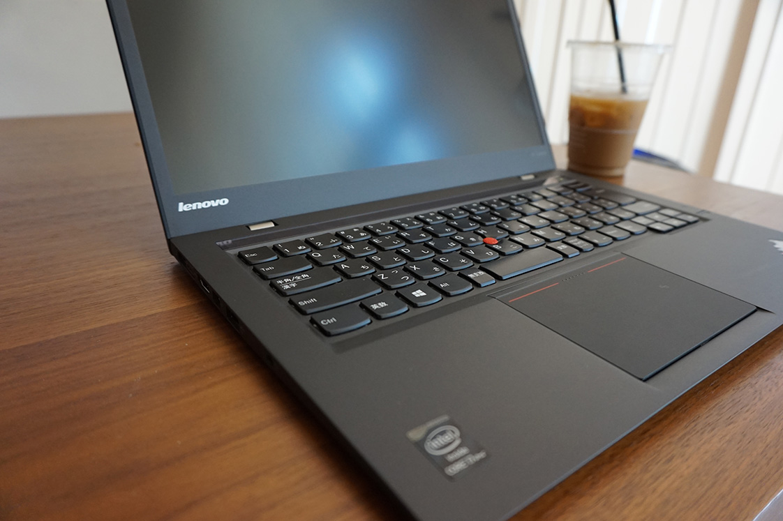 新しいThinkPad X1 Carbon(Core i7搭載機)レビュー