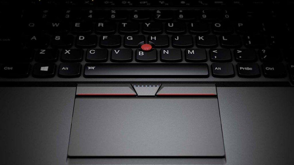 ThinkPad X1 Carbon 2015 3rd Genで復活したクリックボタンの画像