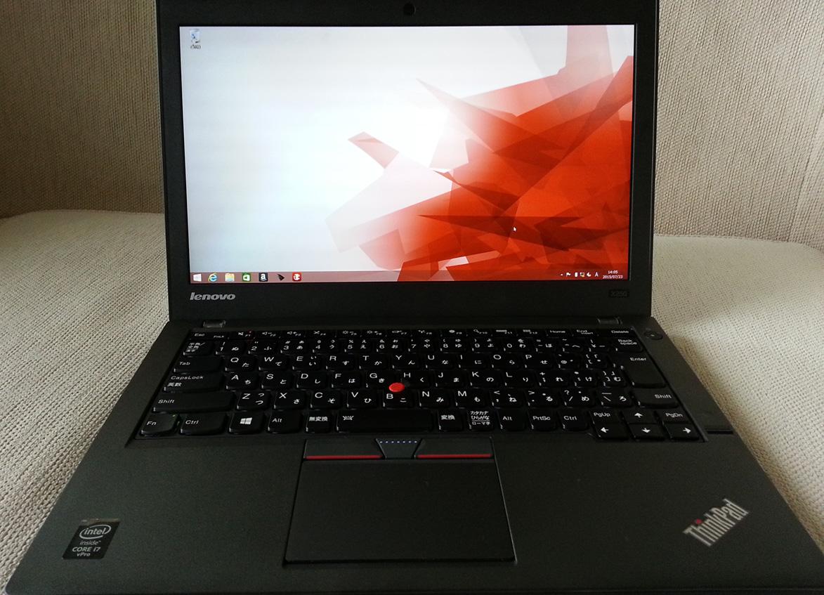ThinkPad X250 実機レビュー 丈夫さとキーボードのフィーリングは抜群