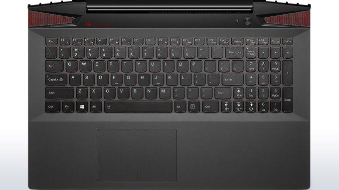 レノボ Y50 キーボード部分画像