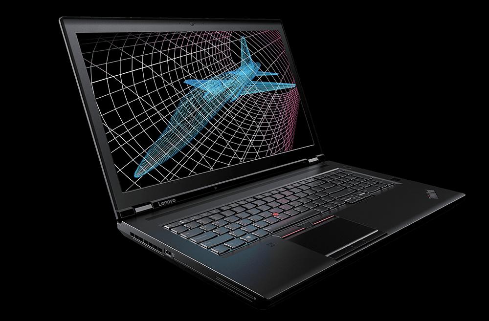 ThinkPad P70正面画像